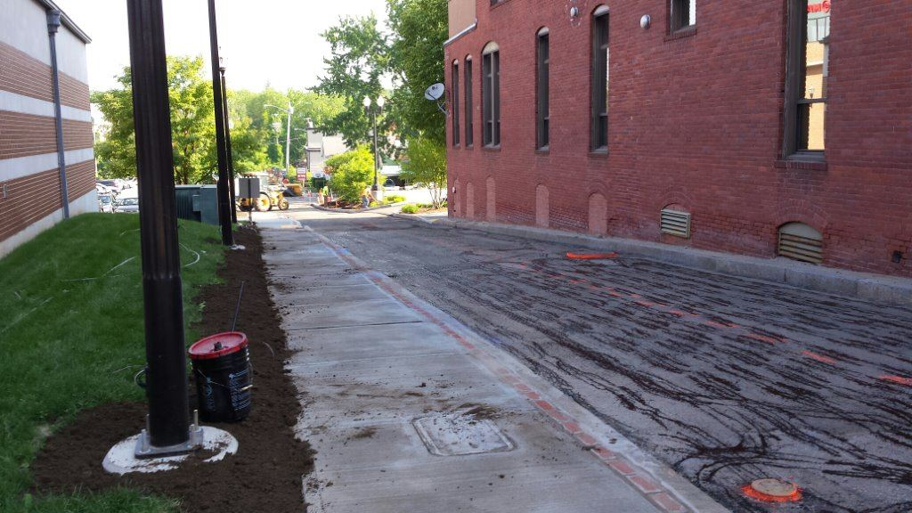 Davis Street - Tracy Court Project Progress