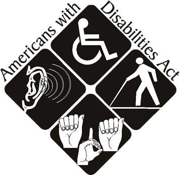American with Disabilities Act Logo
