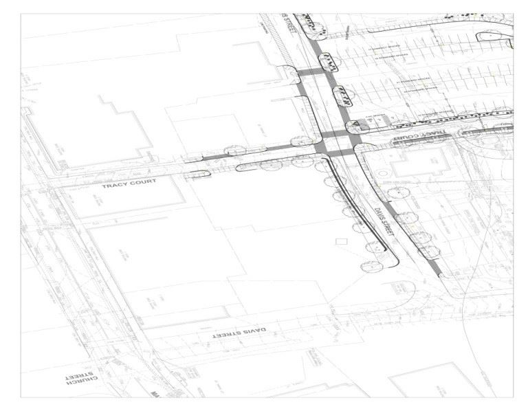 Davis Street - Tracy Court Project Blueprints