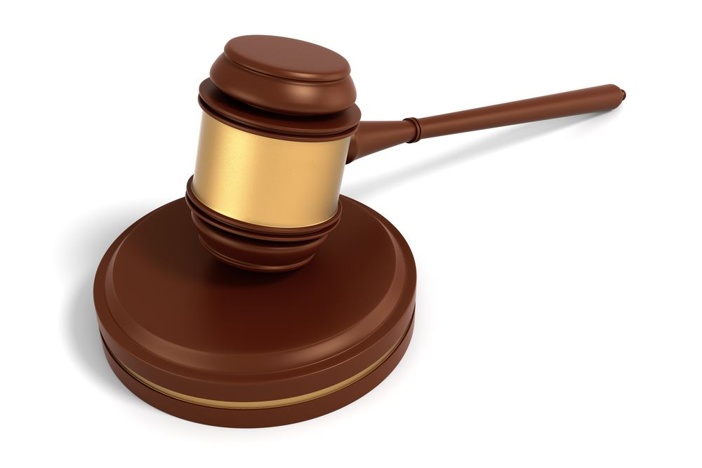 Stock photo of gavel.