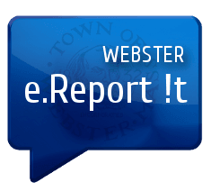 ereport it in speech bubble