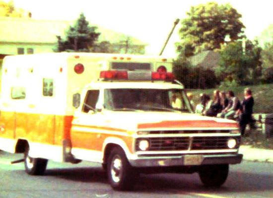 Retired Former Webster Ambulance and Resque Squad A1, 1973 Ford F-Series