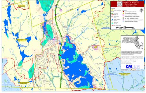 2008 Open Space Plan Map - Water Resources