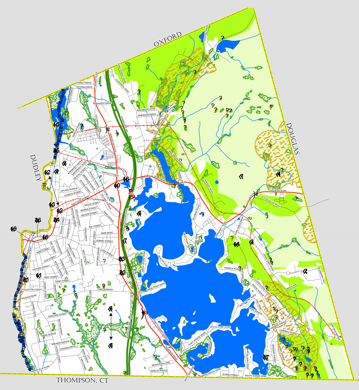 Zoning Map / Property Cards / GIS | Webster, MA on real estate property maps, gps property maps, county property maps,